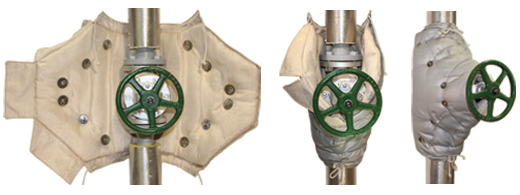 Pipe and Valve Insulation Jacket