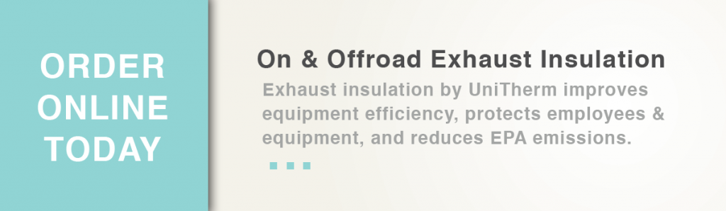 Exhaust Insulation Banner Ad