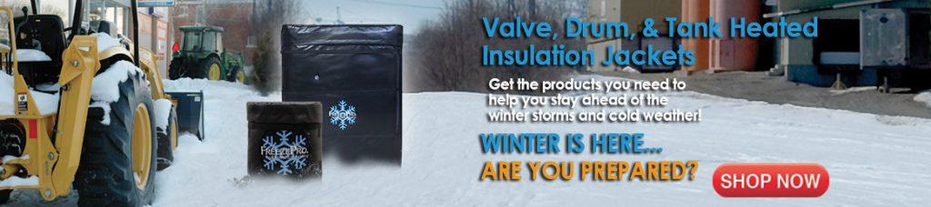 Heat trace insulation